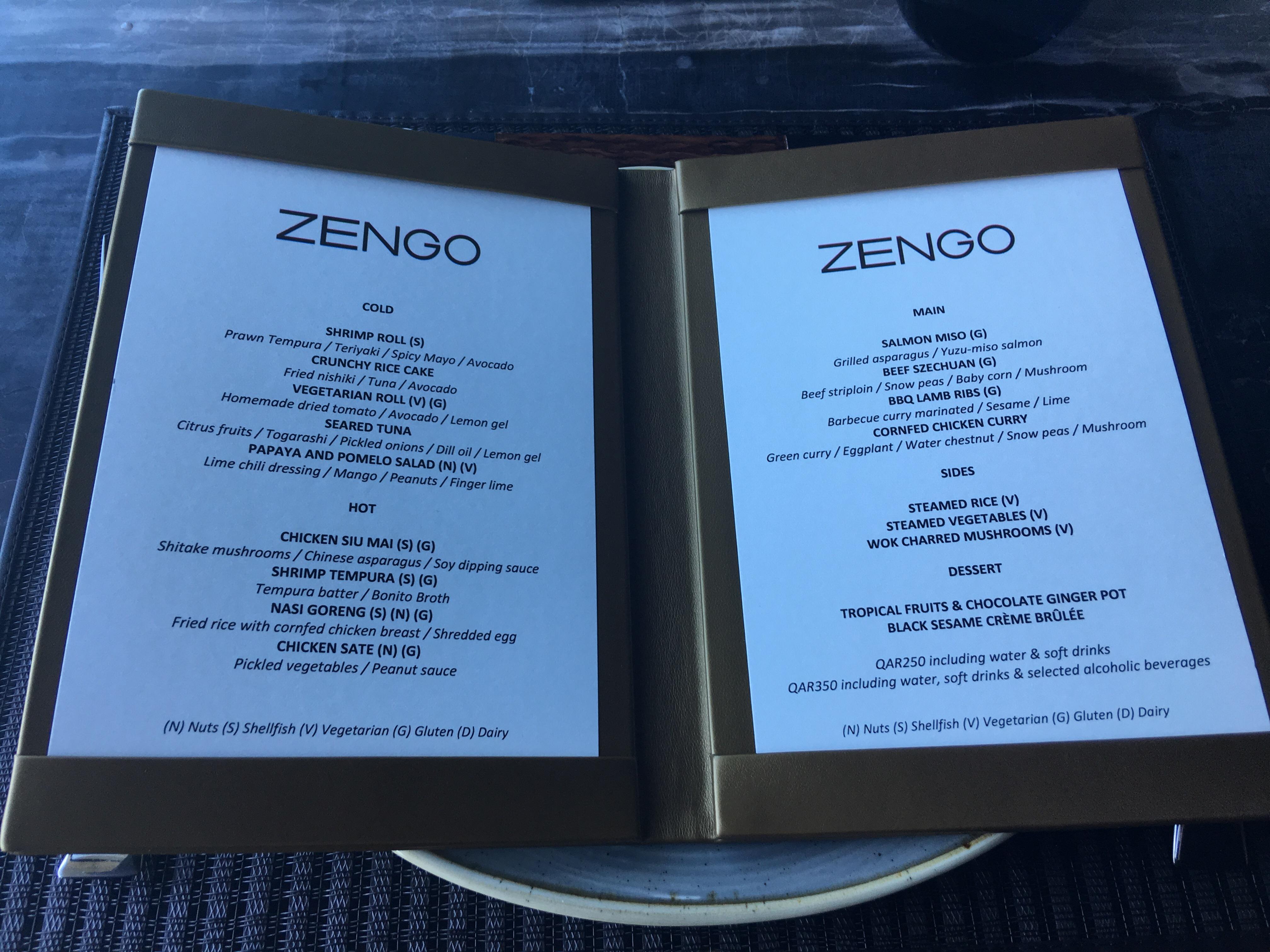 Zengo, Kempinski Residences – Eat. Sleep. Repeat