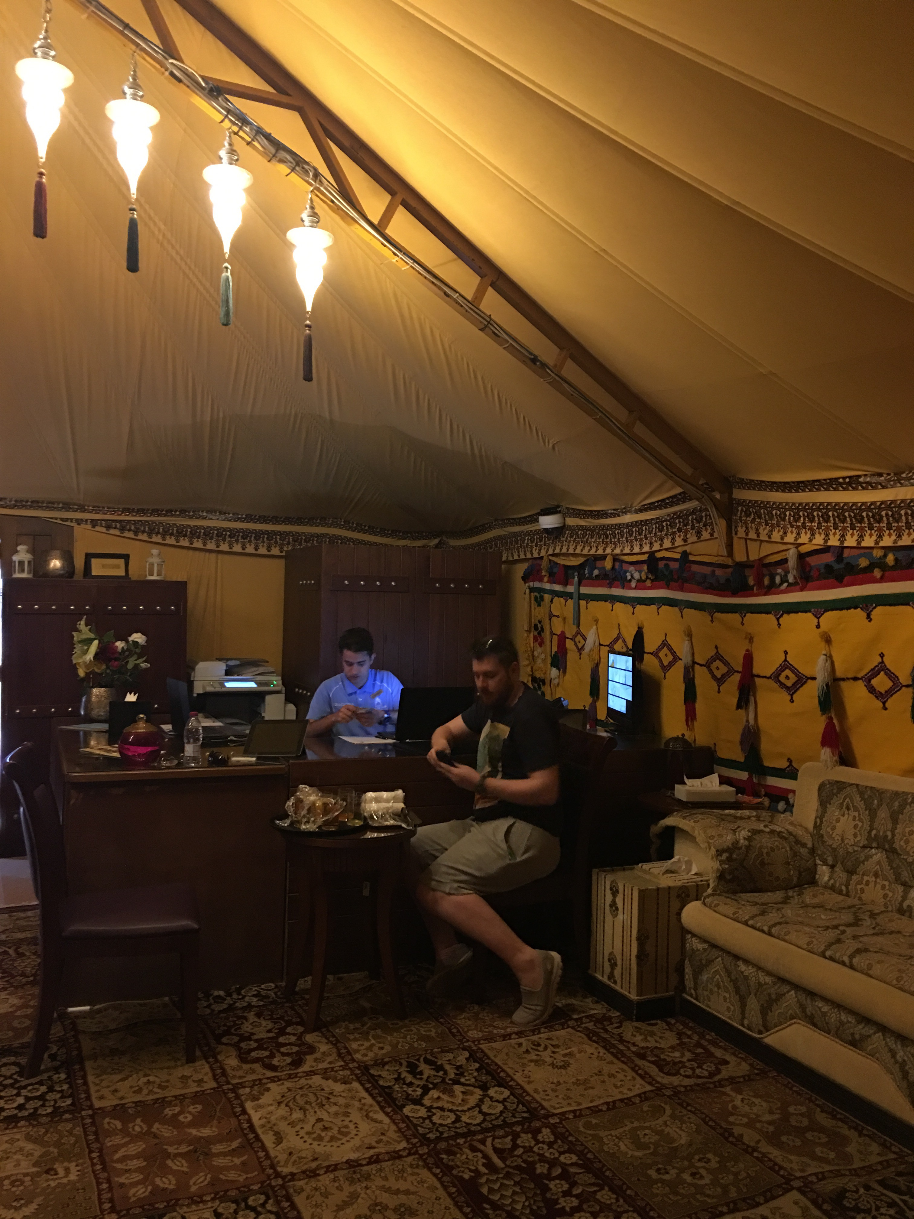 Tourist Camp Qatar Eat Sleep Repeat